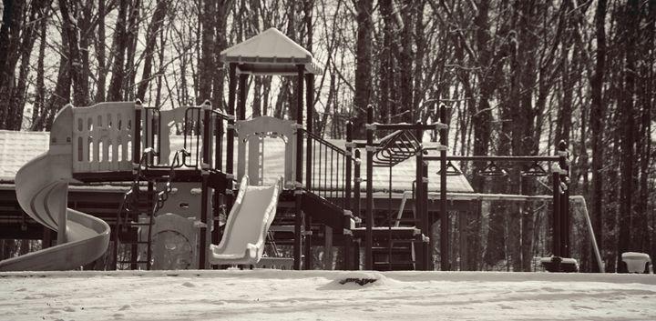 Playground in the Snow - NatureBabe Photos