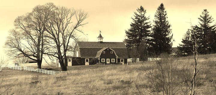 Hillside Barn - NatureBabe Photos