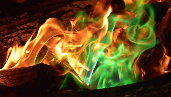 Campfire Colors - NatureBabe Photos