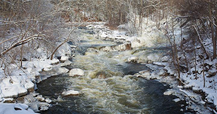 Winter on the Housatonic River - NatureBabe Photos