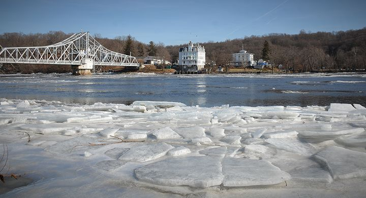 Ice Jams on Connecticut River - NatureBabe Photos