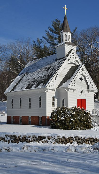 St, Bridget's in the Snow - NatureBabe Photos