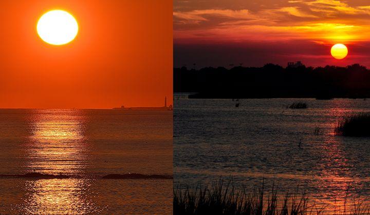 Sunrise Sunset - NatureBabe Photos
