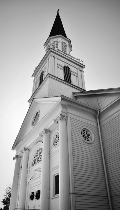 Greek Revival Style Church - NatureBabe Photos
