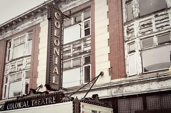 Colonial Theatre Laconia, NH - NatureBabe Photos