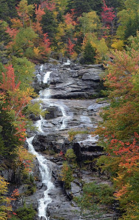 Arethusa Falls, New Hampshire - NatureBabe Photos