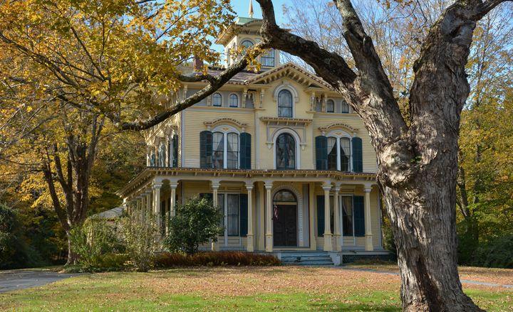 1867 Italianate Mansion - NatureBabe Photos