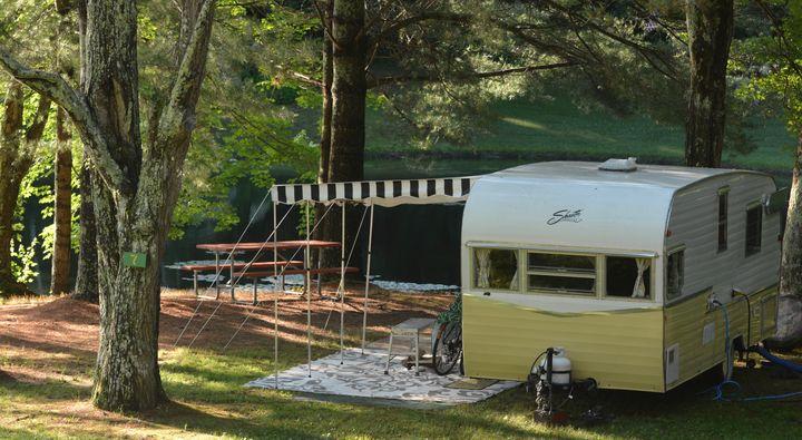Vintage Camper - NatureBabe Photos