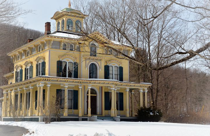 Philip Chapin House in Winter - NatureBabe Photos