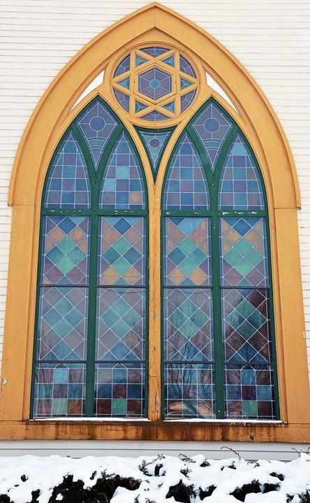 Church Window in Litchfield - NatureBabe Photos