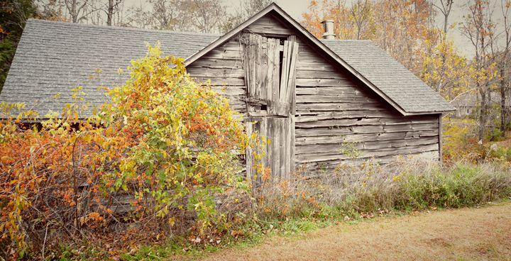 Rustic Barn in Sharon, Connecticut - NatureBabe Photos