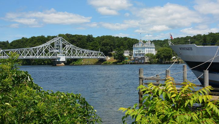 East Haddam View in Summer - NatureBabe Photos