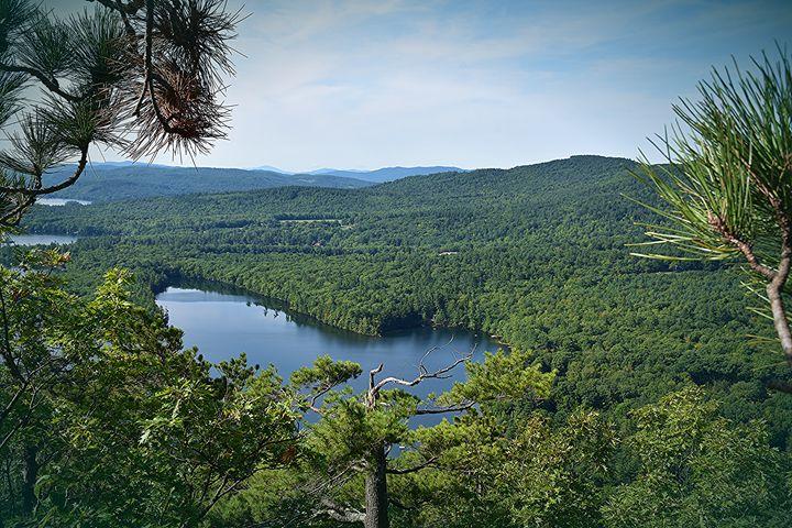 View from Rattlesnake Mountain, NH - NatureBabe Photos
