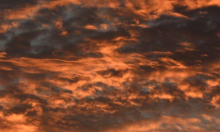 Fiery Summer Sunset - NatureBabe Photos