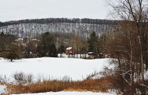 Litchfield Hills in Winter