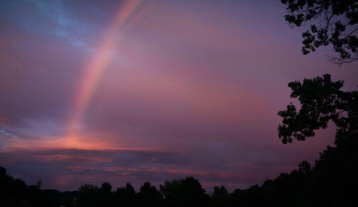 Rainbow of Hope before the Hurricane - NatureBabe Photos
