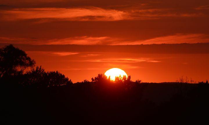 Hot Summer Sunset - NatureBabe Photos