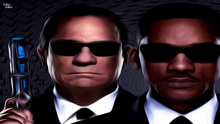 Men In Black - T' Graphics