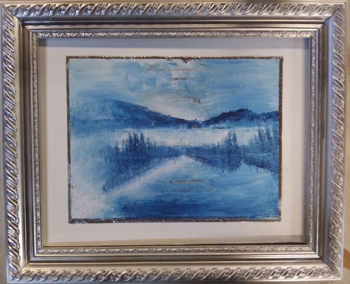 Foggy Christmas (#2) - The ART Barn
