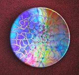 Handmade Dichroic Glass Bowl
