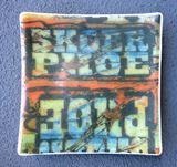 Handmade Glass Plate