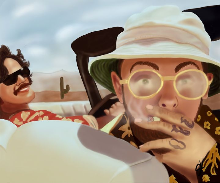 Fear and Loathing with Mac Miller -  Fakeapplejuice