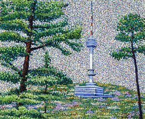 Spring in Seoul Korea - JUCHUL KIM