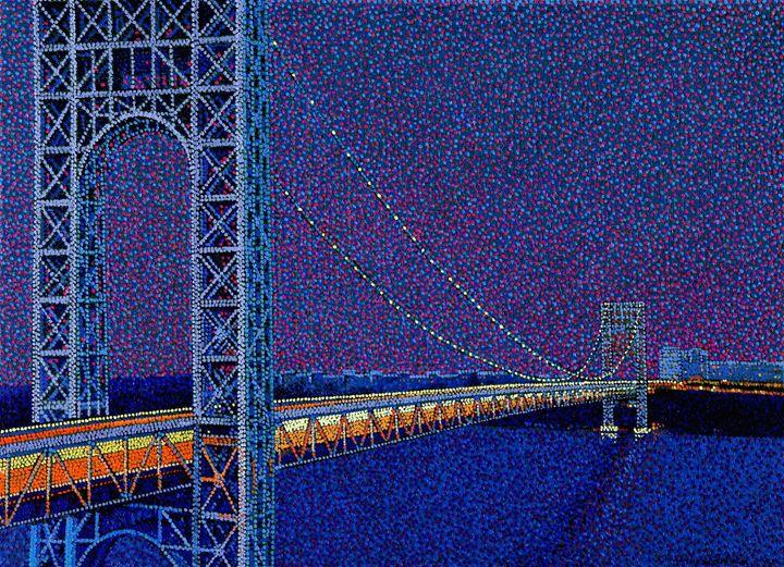 George Washington Bridge New York - JUCHUL KIM