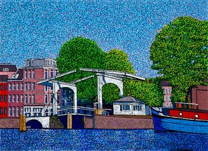 a drawbridge Amsterdam - JUCHUL KIM