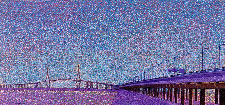 Incheon Bridge.Korea - JUCHUL KIM