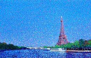 Eiffel Tower and the Seine River - JUCHUL KIM