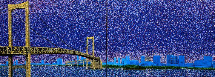 Rainbow Bridge.Tokyo Japan - JUCHUL KIM