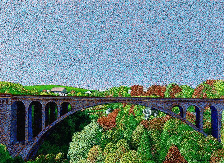Pont Adolphe Luxembourg - JUCHUL KIM