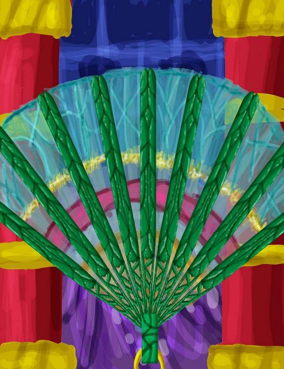 The Winged Fan - Beyond the Borderline