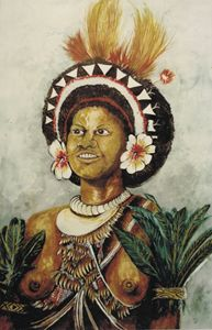 woman from Manus