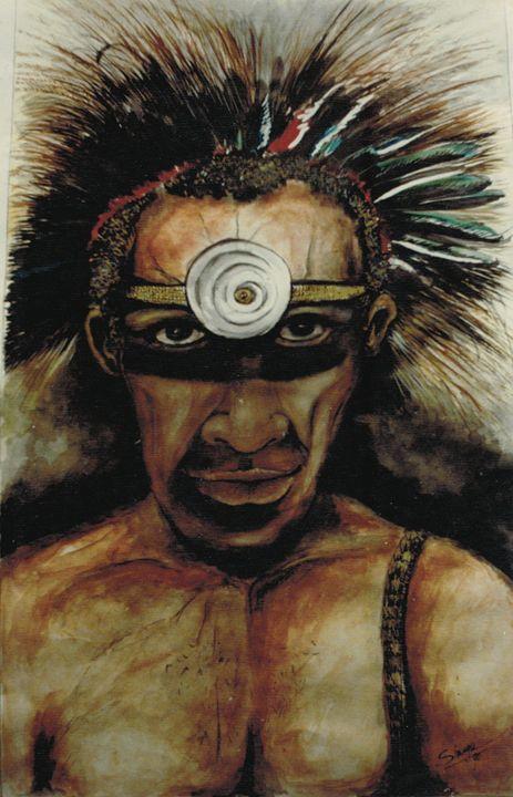 highlands Man-PNG - widow's Craft