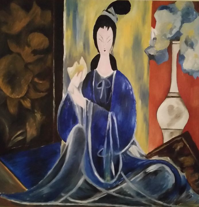 Lin Fengmian homage - Fineartcopy.net