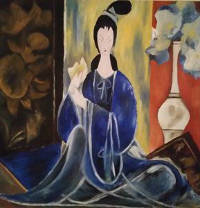 Lin Fengmian homage
