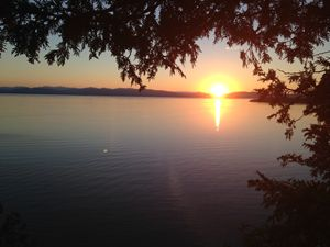 Sunset on Champlain