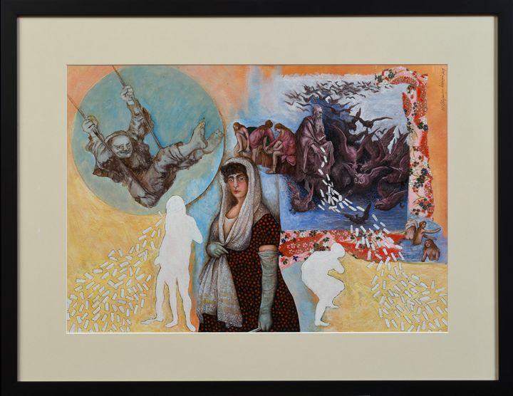 EL SUENO DE ISABEL   ref. #548 - Alejandro Mazon Fine Art