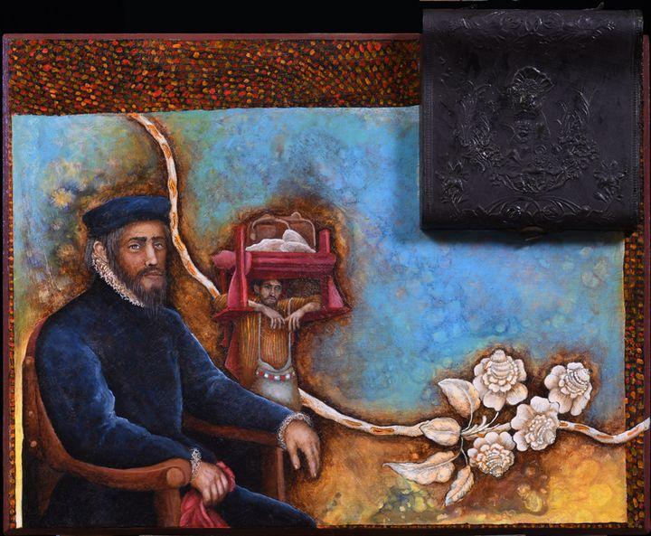 THE BOX LID   ref # 544 - Alejandro Mazon Fine Art