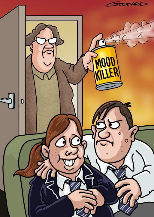 Mood killer - Clive Goddard