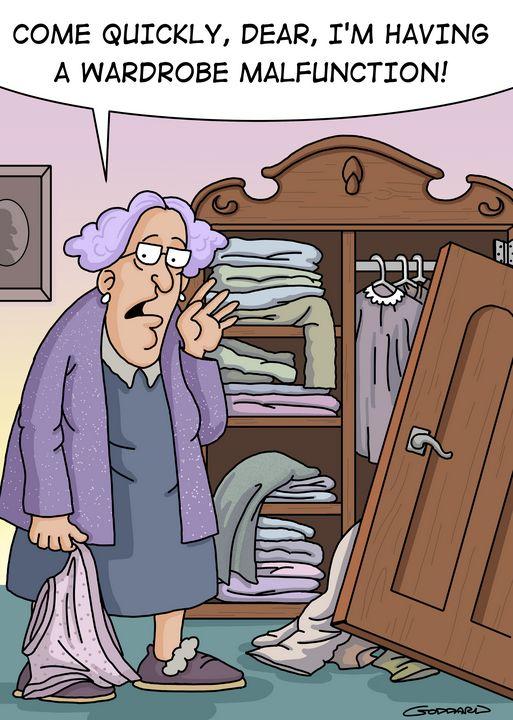 Wardrobe Malfunction - Clive Goddard