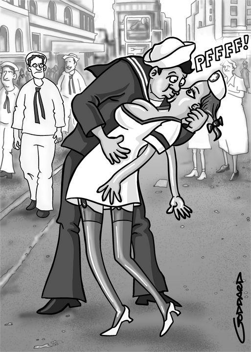 Inflatable nurse - Clive Goddard