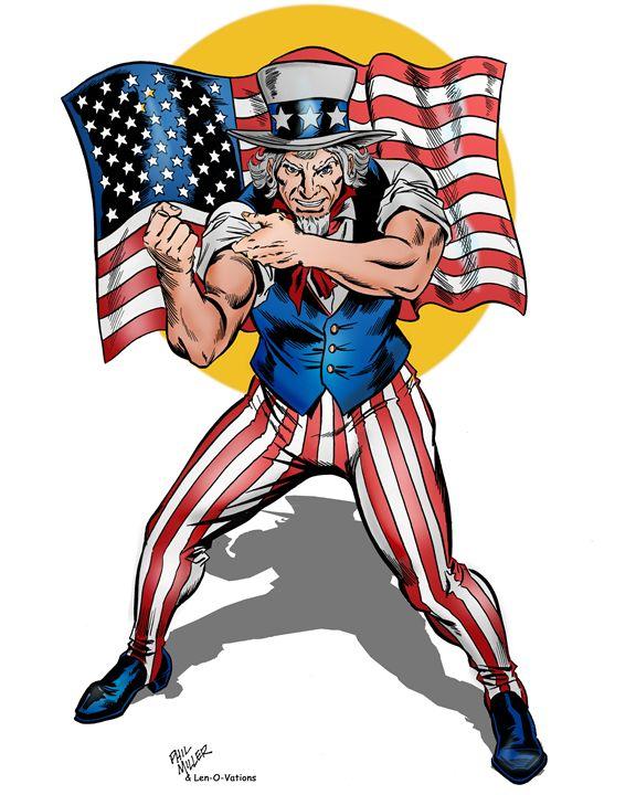 Uncle Sam - PrintingPixels - Digital Art, People & Figures, Animation,  Anime, & Comics, Comics - ArtPal
