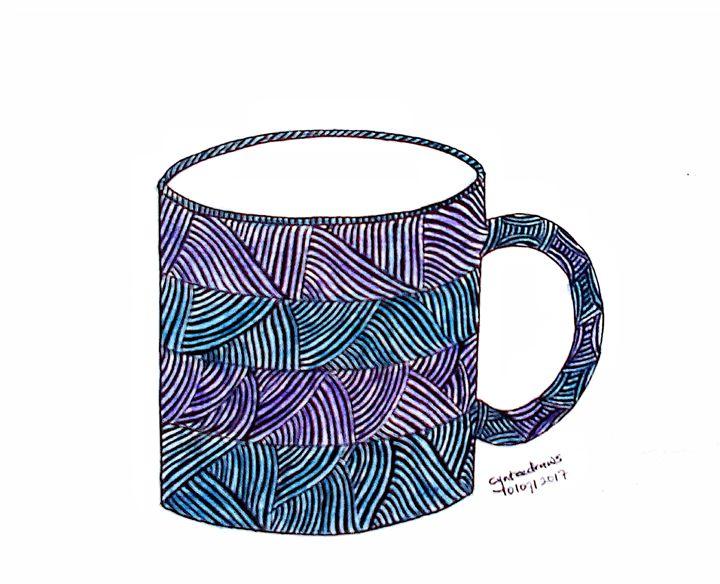 Patterned mug - Cynteevicks