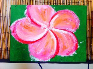 Pink Plumeria - Coconatt's Art