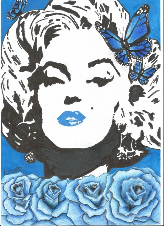 Blue Marilyn - Hillstudios