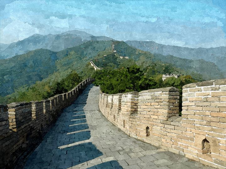 Chinese wall - China - Asia - Min Art