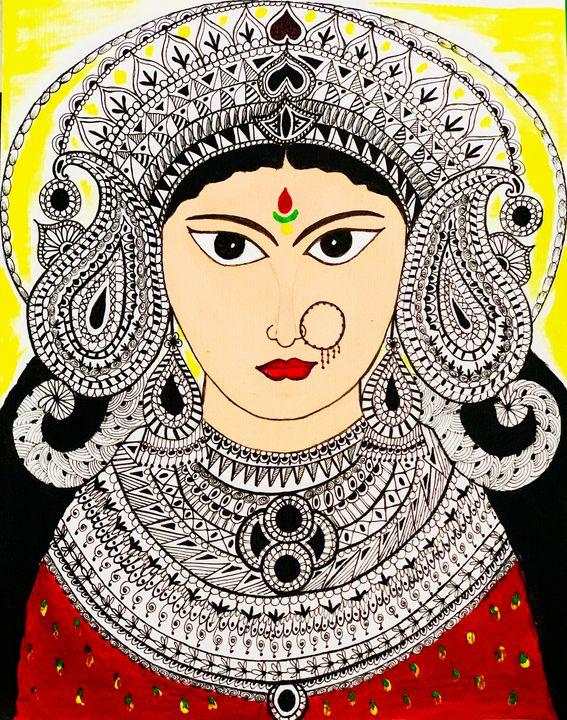 Goddess Durga - showerthoughts_art